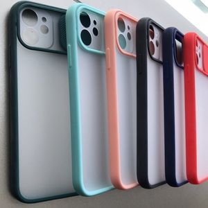 For iPhone 11 phone case with camera slider saver